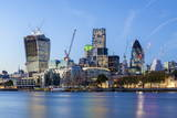 The City of London Skyline with the Gherkin on the Right, London, England, United Kingdom, Europe Photographic Print by Charlie Harding