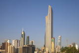 El Hamra Building, a Business and Luxury Shopping Center, Kuwait City, Kuwait, Middle East Photographic Print by Jane Sweeney