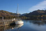 Autumn, Head of Lake Ullswater, by the Lake Steamer Dock, Lake District National Park, Cumbria Photographic Print by James Emmerson