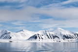 Monaco Glacier, Spitzbergen, Svalbard Islands, Norway, Scandinavia, Europe Photographic Print by Sergio Pitamitz