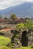 The Ruins of the Roman City of Pompeii, UNESCO World Heritage Site, Campania, Italy, Europe Photographic Print by Martin Child
