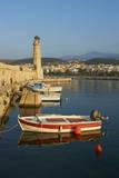 Venetian Port of Rethymnon, Crete, Greek Islands, Greece, Europe Stampa fotografica di Bruno Morandi