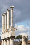 Pillars in Ancient Pompeii, UNESCO World Heritage Site, Campania, Italy, Europe Photographic Print by Martin Child