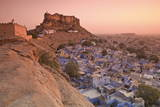 Elevated View Towards Meherangarh Fort Photographic Print by Doug Pearson