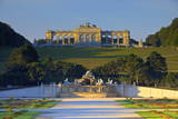 Gloriette and French Garden Photographic Print by Neil Farrin
