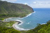 Halawa Bay on the Island of Molokai, Hawaii, United States of America, Pacific Fotografisk trykk av Michael Runkel