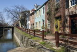 Old Houses Along the C and O Canal Photographic Print by John Woodworth