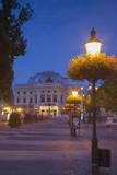 Slovak National Theatre at Dusk, Bratislava, Slovakia, Europe Photographic Print by Ian Trower