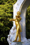 Statue of Johann Strauss, Stadtpark, Vienna, Austria, Central Europe Photographic Print by Neil Farrin