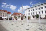 Szechenyi Square, Gyor, Western Transdanubia, Hungary, Europe Photographic Print by Ian Trower