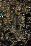 View from Empire State Building at Night Photographic Print by Ben Pipe