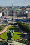 View from St. Isaac's Cathedral in St. Petersburg, Russia, Europe Photographic Print by Michael Runkel