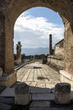 Pompeii Ruins, UNESCO World Heritage Site, Campania, Italy, Europe Photographic Print by Angelo Cavalli