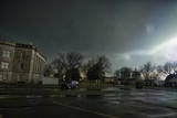 Supercell Thunderstorm Turns the Four O'Clock Sunshine to Darkness Photographic Print by Louise Murray