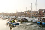 A View of the Marina at Penarth, Glamorgan, Wales, United Kingdom, Europe Photographic Print by Graham Lawrence