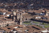 Aerial View of Cusco Photographic Print by Peter Groenendijk
