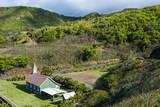 Church in Kahakuloa, Western Maui, Hawaii, United States of America, Pacific Photographic Print by Michael Runkel