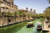 Dhows Cruise around the Madinat Jumeirah Hotel, Dubai, United Arab Emirates, Middle East Photographic Print by Amanda Hall