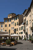 Piazza Anfiteatro, Lucca, Tuscany, Italy, Europe Photographic Print by James Emmerson