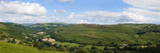 A Panoramic View of the Wye Valley Near Erwood, Powys, Wales, United Kingdom, Europe Photographic Print by Graham Lawrence