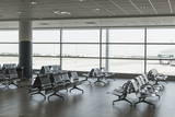 Empty Airport Hall, Prague, Czech Republic, Europe Photographic Print by Angelo Cavalli
