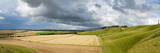 Panoramic Landscape View of the Cherhill Downs, Wiltshire, England, United Kingdom, Europe Photographic Print by Graham Lawrence