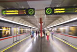 U-Bahn, Vienna, Austria, Europe Photographic Print by Neil Farrin