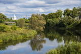 The Kamenka River Flowing Through Suzdal, Golden Ring, Russia, Europe Photographic Print by Michael Runkel