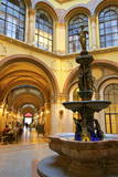 Fountain in Freyung Passage, Vienna, Austria, Europe Photographic Print by Neil Farrin