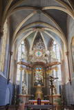 Interior of Franciscan Church, Bratislava, Slovakia, Europe Photographic Print by Ian Trower