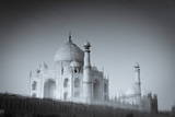 The Taj Mahal Reflected in the Yamuna River Photographic Print by Douglas Pearson