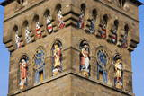 A Detailed View of the Clock Tower at Cardiff Castle Photographic Print by Graham Lawrence