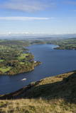 View from Hallin Fell over Lake Ullswater Photographic Print by James Emmerson
