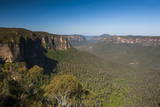 The Rocky Cliffs of the Blue Mountains, New South Wales, Australia, Pacific Photographic Print by Michael Runkel