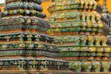 Wat Poh Temple, Bangkok, Thailand, Southeast Asia, Asia Photographic Print by Bhaskar Krishnamurthy