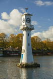 Captain Scott Memorial Lighthouse, Roath Park, Cardiff, Wales, U.K. Photographic Print by Billy Stock