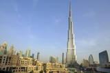 Burj Khalifa and City Skyline, Downtown, Dubai, United Arab Emirates, Middle East Photographic Print by Amanda Hall