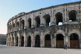 Roman Amphitheatre, Nimes, Gard, Languedoc-Roussillon, France, Europe Photographic Print by David Lomax