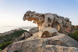 Capo D'Orso at Sunset, Palau, Sardinia, Italy, Mediterranean, Europe Photographic Print by Markus Lange
