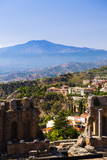 Mount Etna Volcano Photographic Print by Matthew Williams-Ellis