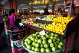 Mahebourg Fruit Market, Mauritius, Africa Photographic Print by Lynn Gail