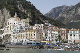 The Maritime Town of Amalfi Nestling Below Mountains Photographic Print by Martin Child