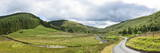 Panoramic Landscape View, Abergwesyn Valley, Powys, Wales, United Kingdom, Europe Photographic Print by Graham Lawrence