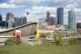 City Skyline, Calgary, Alberta, Canada, North America Photographic Print by Philip Craven