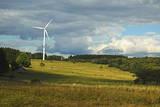 Wind Turbine, Westerwald, Rhineland-Palatinate, Germany, Europe Photographic Print by Jochen Schlenker