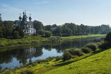 Vologda River in Vologda, Russia, Europe Photographic Print by Michael Runkel