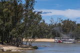 Old Steam Boat in Mildura on the Murray River, Victoria, Australia, Pacific Photographic Print by Michael Runkel