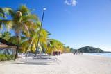 Beach, Jolly Harbour, St. Mary, Antigua, Leeward Islands, West Indies, Caribbean, Central America Photographie par Frank Fell