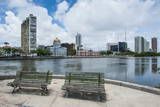 Historicla Waterfront of Recife, Pernambuco, Brazil, South America Photographic Print by Michael Runkel