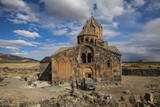 Hovhannavank Church at the Edge of the Qasakh River Canyon, Ashtarak, Armenia, Central Asia, Asia Photographic Print by Jane Sweeney